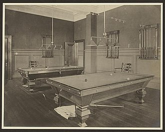 Carnegie Library of Homestead - Image: Homestead Library billiard hall