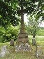 Hommert (Moselle) croix de chemin F.jpg