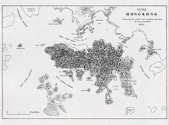 Hong Kong Map made by Edward Belcher in 1841.jpg