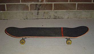 Street skateboarding - Image: Horizontal Skateboard