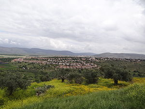 Community settlement (Israel) -  View of Hoshaya