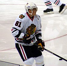 alt=Description de l'image Hossa-Hawks.jpg.