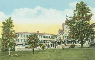 Plymouth, New Hampshire - Hotel Pemigewasset in 1922