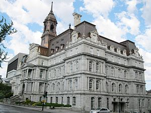 Montreal City Hall - Montreal City Hall, 2012