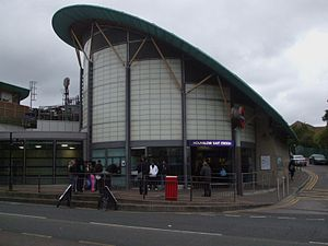 Hounslow East tube station - Image: Hounslow East stn building