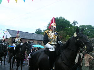 Tillington, West Sussex - Image: Household cavalry at Tillington