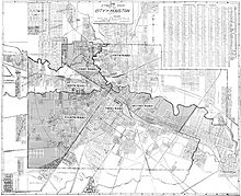 Wards of Houston  Wikipedia