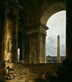 Hubert Robert - El Obelisco - Instituto de Arte de Chicago - 1787-88.jpg