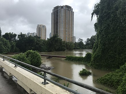 Buffalo Bayou after Hurricane Harvey, August 2017 Hurricane Harvey (36561871944).jpg