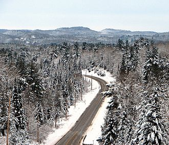 Hastings County - The northern portion of Hastings County is characterized by the rugged landscape of the Madawaska Highlands.
