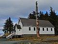 Hydaburg Totem and Church (5513526051).jpg