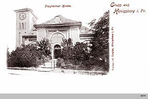 Tragheim Church - Image: ID003844 B274 Tragheimer Kirche