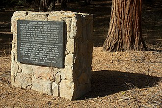Converse Basin - Historical marker (1977)