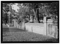 INTERIOR OF PERIMETER WALL. VIEW TO NORTH. - New Bern National Cemetery, 1711 National Avenue, New Bern, Craven County, NC HALS NC-1-9.tif