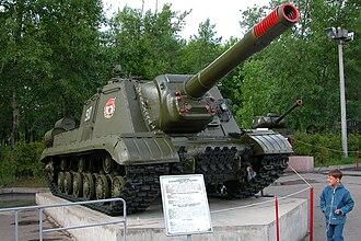 ISU-152 - ISU-152K, Victory Park, Moscow, Russia