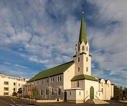 How to get to Fríkirkjan Í Reykjavík with public transit - About the place