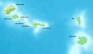 Barlavento Islands - Barlavento Islands with its islands