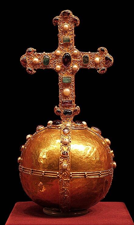 Der Reichsapfel des Heiligen Römischen Reichs – Symbol der universalen christlichen Weltherrschaft