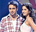 Imran Khan and Katrina Kaif at the Mere Brother Ki Dulhan audo release.jpg