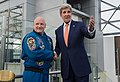 In Moscow, Secretary Kerry Shakes Hands With Astronaut Kelly Before They Discussed Commander Kelly's One-Year Mission in Space (25731248420).jpg