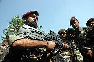 Para (Special Forces) - Image: India Para 2
