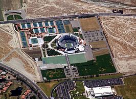 Tennispark in Indian Wells