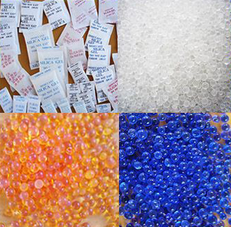 Desiccant - Indicating silica gel