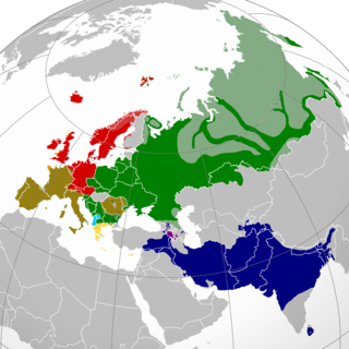 Indo-European languages Language family native to western and southern Eurasia