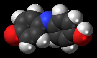 Indophenol - Image: Indophenol 3D spacefill
