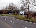Industrial estate entrance, Southam - geograph.org.uk - 1140360.jpg