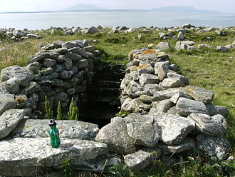 Inishglora - A freshwater well on Inishglora