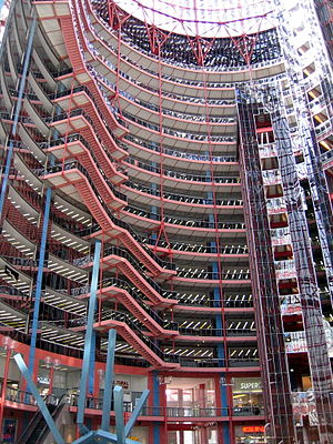 James R. Thompson Center - Inside view of the Thompson Center