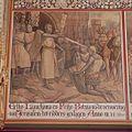 Interieur, begane grond, achterzijde (Statenzaal), muurschildering, Eelko Liauckama en Feiko Botnia na de verovering van Jerusalem tot ridders geslagen - Leeuwarden - 20394425 - RCE.jpg