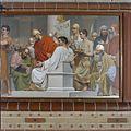 Interieur, muurschildering Christus voor Pilatus - Alphen aan den Rijn - 20373428 - RCE.jpg