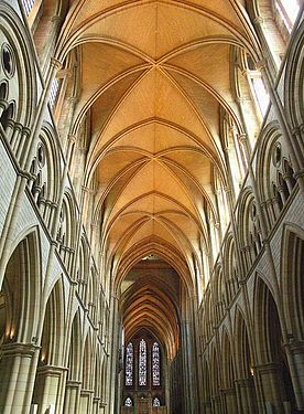 Interior of Truro Cathedral