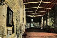 Interior of the Alamo, San Antonio, Texas