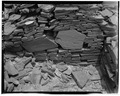 Interior wall detail, view towards east - Indian Creek, Casa Cielo, Indian Creek, Crownpoint, McKinley County, NM HABS NM16-CROPO.V,2B-20.tif