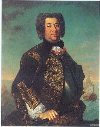 Dnieper Flotilla - Vasily Afanasievich-Mamónov, first commander of the flotilla