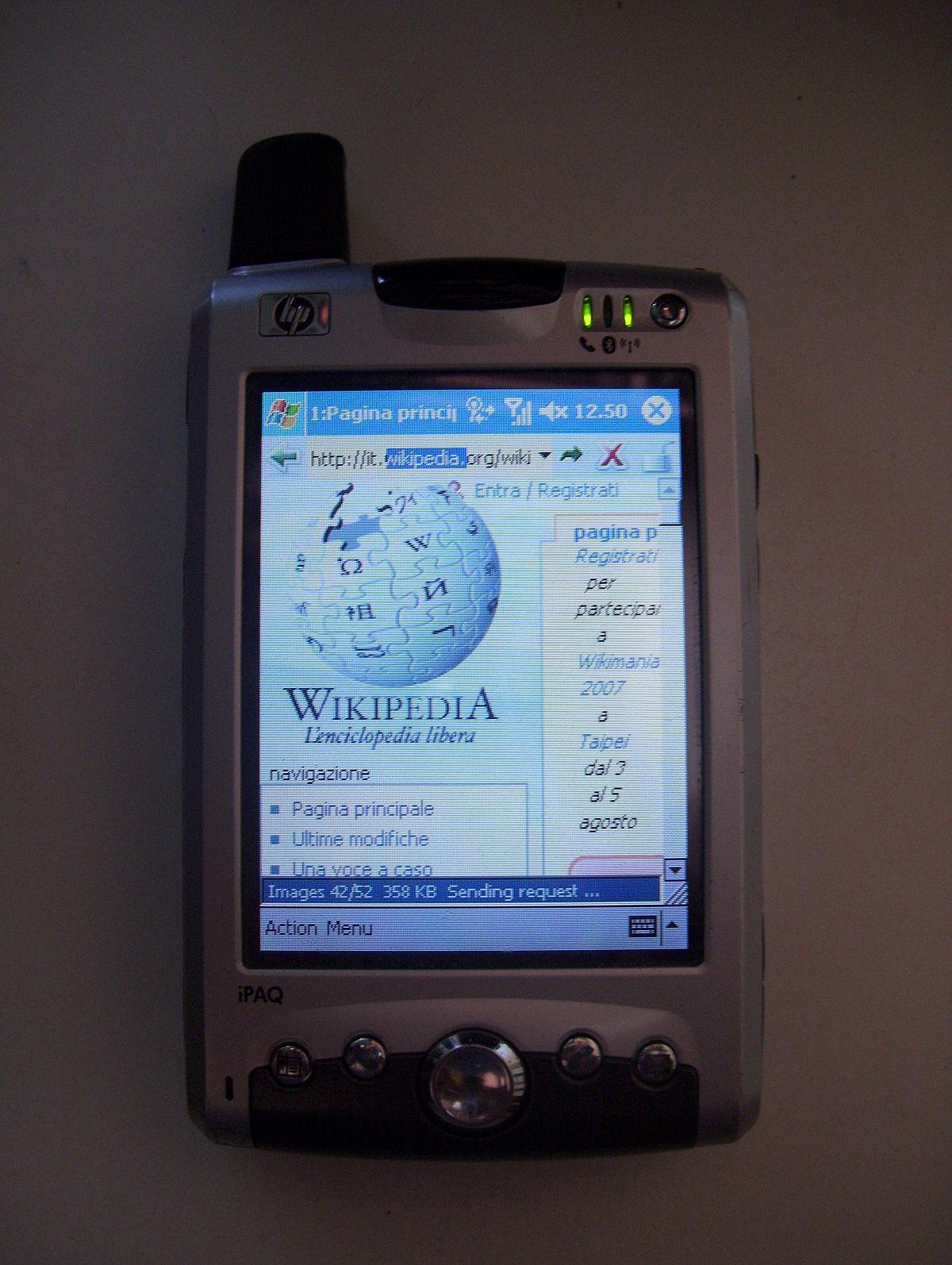 Ipaq Wikipedia