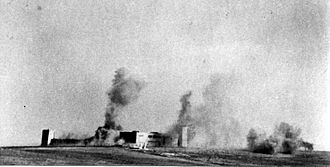 Operation Yoav - The Iraq Suwaydan bombardment, 9 November 1948.