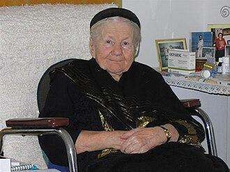 Irena Sendler - Irena Sendler in 2005