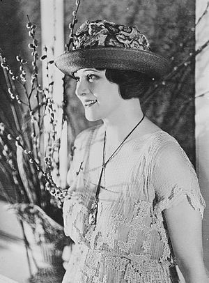 My Official Wife - Irene Rich, lead actress for 1926 silent film