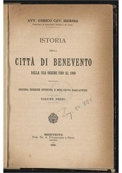 Istoria della città di Benevento