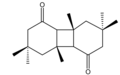 Isophorone diketone cis-syn-cis isomer.png