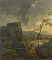 Italiaans landschap met tempel Rijksmuseum SK-A-323.jpeg