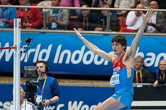 2014 IAAF World Indoor Championships – Men's high jump - Ivan Ukhov finished second in the final.