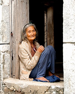 Ivatan people - Image: Ivatan Old Woman