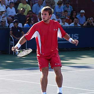 Ivo Minář Czech tennis player