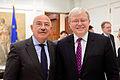 János Martonyi (left), Foreign Minister of Hungary, and Kevin Rudd, former Australian Prime Minister (9998620374).jpg