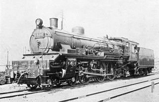 JNR Class C53 Class of 97 Japanese 4-6-2 steam locomotives